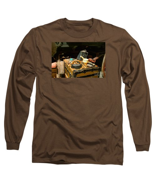 Essentials  From Covered Wagon Long Sleeve T-Shirt by Linda Phelps