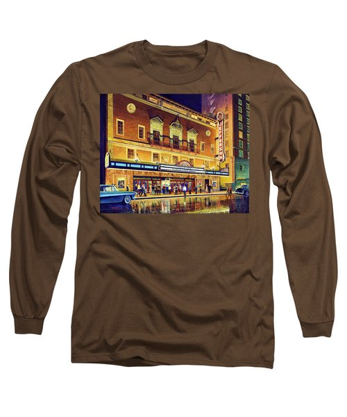 Evening At The Jefferson Long Sleeve T-Shirt