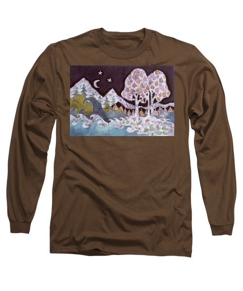 Evening In A Gentle Place Long Sleeve T-Shirt