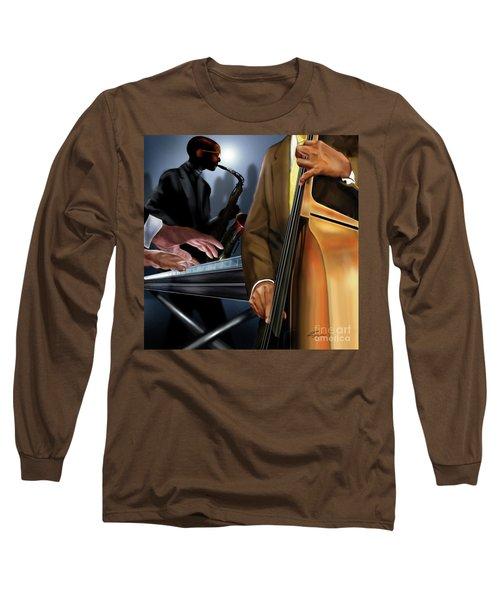 Evening Jazz Crowd Pleaser Long Sleeve T-Shirt