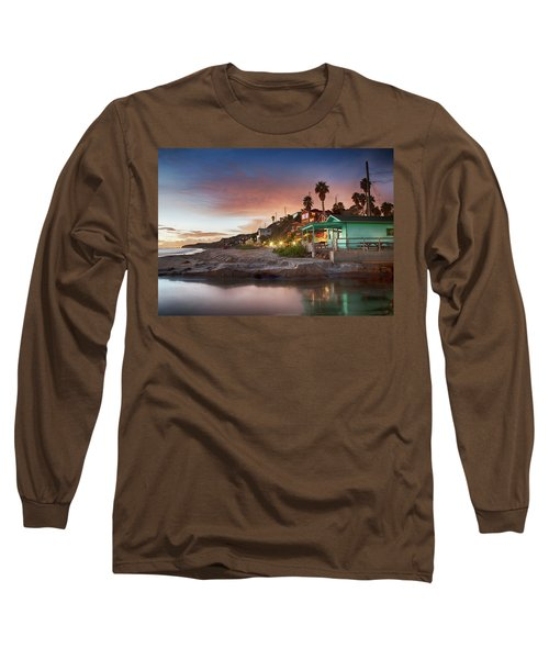 Evening Reflections, Crystal Cove Long Sleeve T-Shirt