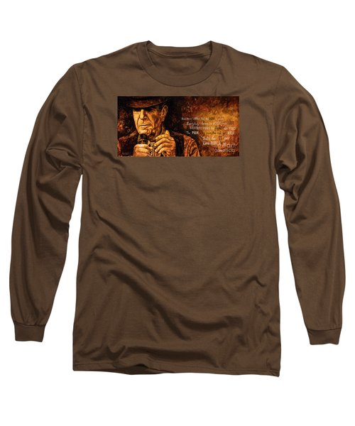 Long Sleeve T-Shirt featuring the painting Everybody Knows by Igor Postash