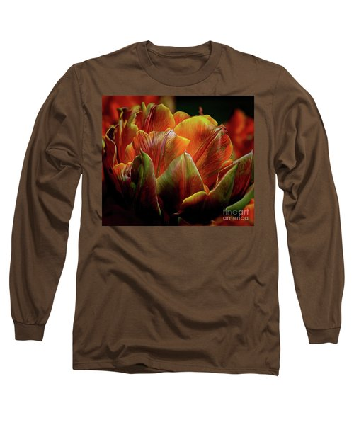 Extraordinary Passion Long Sleeve T-Shirt by Diana Mary Sharpton