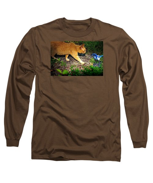 Long Sleeve T-Shirt featuring the photograph Eye To Eye by Nick Kloepping