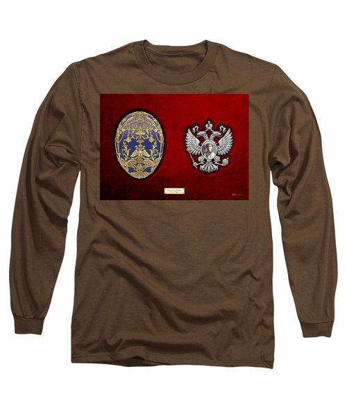 Faberge Tsarevich Egg With Surprise Long Sleeve T-Shirt