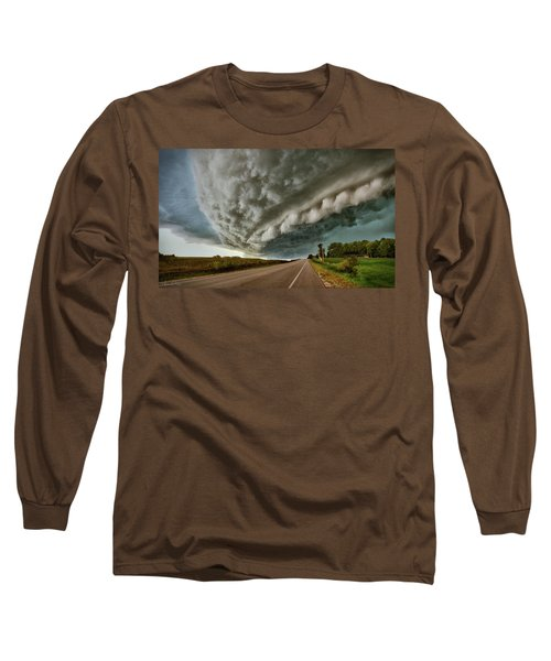 Face In The Storm Long Sleeve T-Shirt