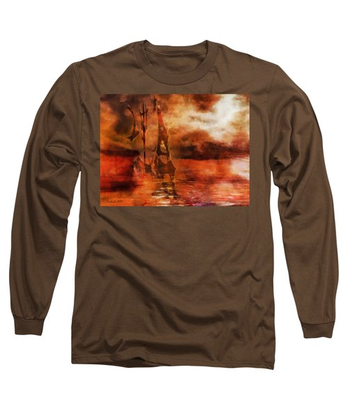 Fade To Red Long Sleeve T-Shirt