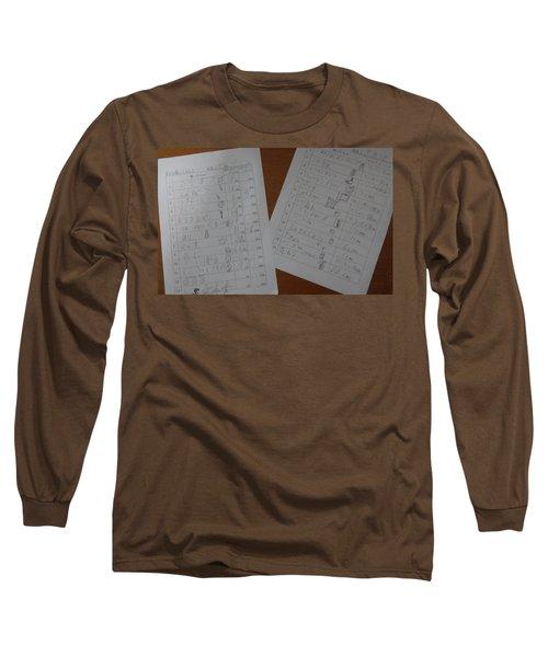 Faint Memory Table Long Sleeve T-Shirt