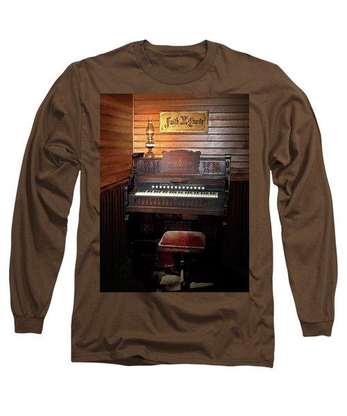 Faith, Hope And Charity Long Sleeve T-Shirt by Judy Johnson