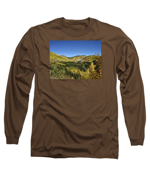 Fall Aspens In San Juan County In Colorado Long Sleeve T-Shirt