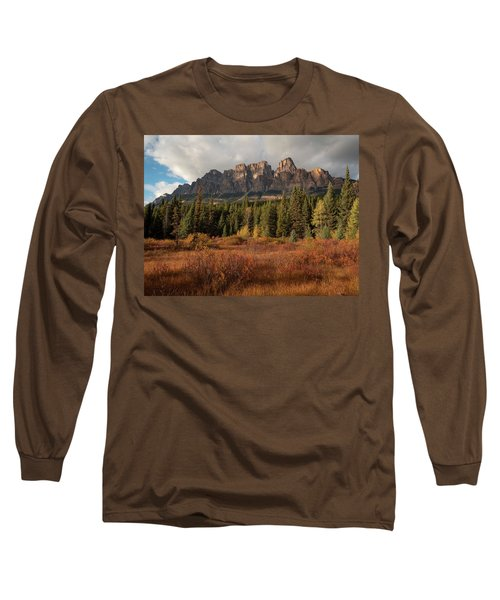 Fall At Castle Mountain Long Sleeve T-Shirt