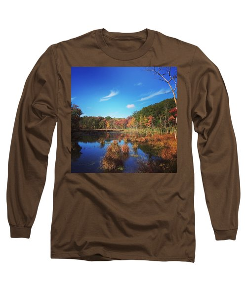 Fall At The Pond Long Sleeve T-Shirt