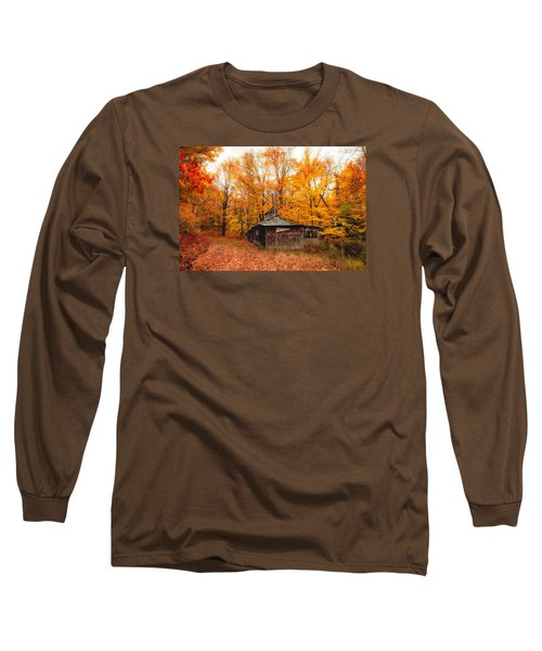 Fall At The Sugar House Long Sleeve T-Shirt