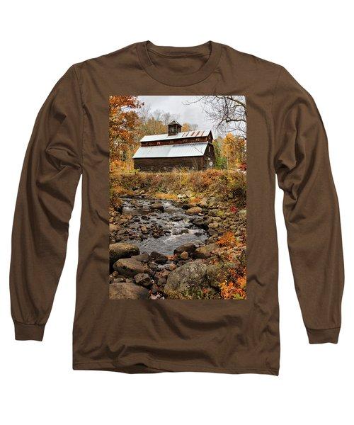 Fall Barn  Long Sleeve T-Shirt