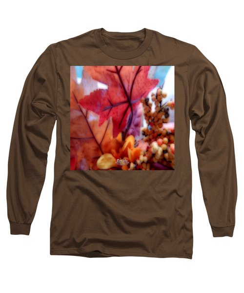 Fall Colors # 6059 Long Sleeve T-Shirt by Barbara Tristan