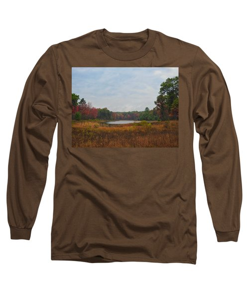 Fall Colors At Gladwin 4459 Long Sleeve T-Shirt