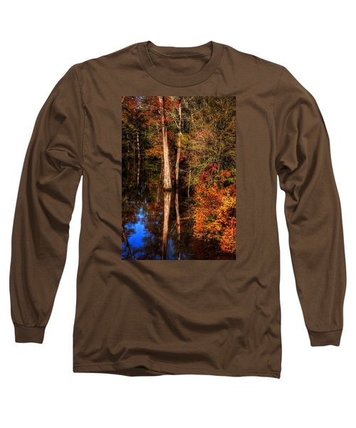 Fall Colors  Long Sleeve T-Shirt by Ester Rogers