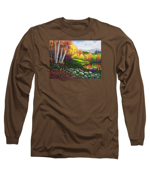 Fall Colors Long Sleeve T-Shirt by Michael Frank