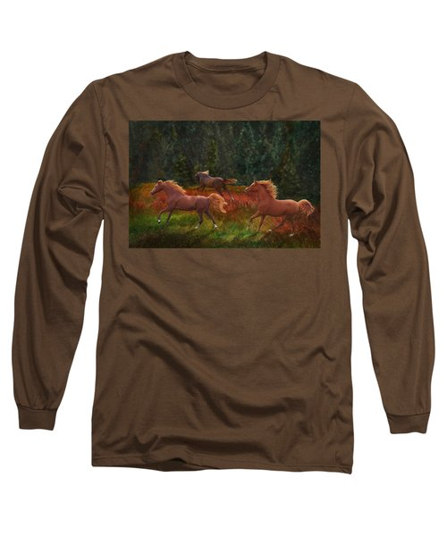 Fall Dancers Long Sleeve T-Shirt