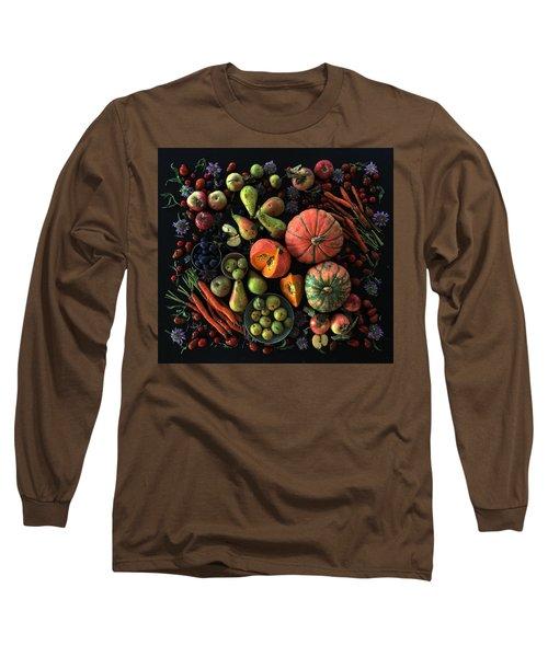 Fall Farmers' Market Long Sleeve T-Shirt