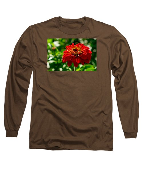 Fall Flower Long Sleeve T-Shirt