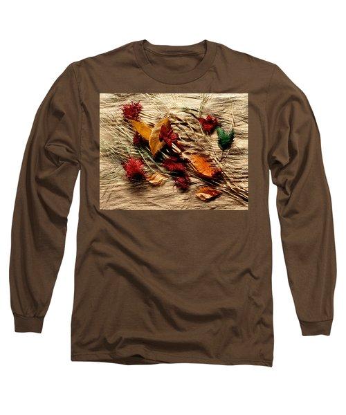 Fall Foliage Still Life Long Sleeve T-Shirt