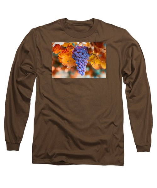 Fall Grapes From The Yakima Valley,  Long Sleeve T-Shirt