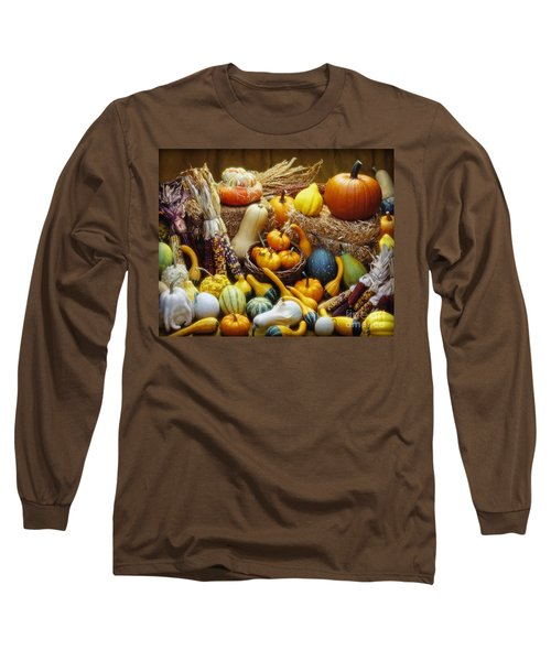Long Sleeve T-Shirt featuring the photograph Fall Harvest by Martin Konopacki