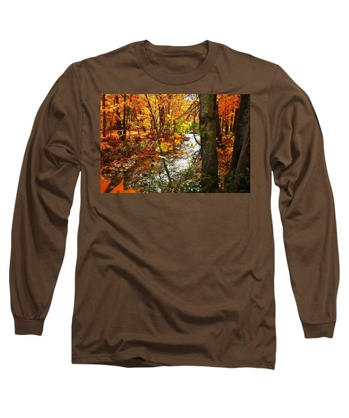 Fall In The Mountains Long Sleeve T-Shirt