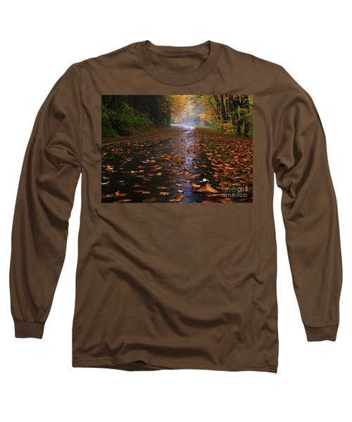 Fall Morning, Great Smoky Mountains National Park Long Sleeve T-Shirt
