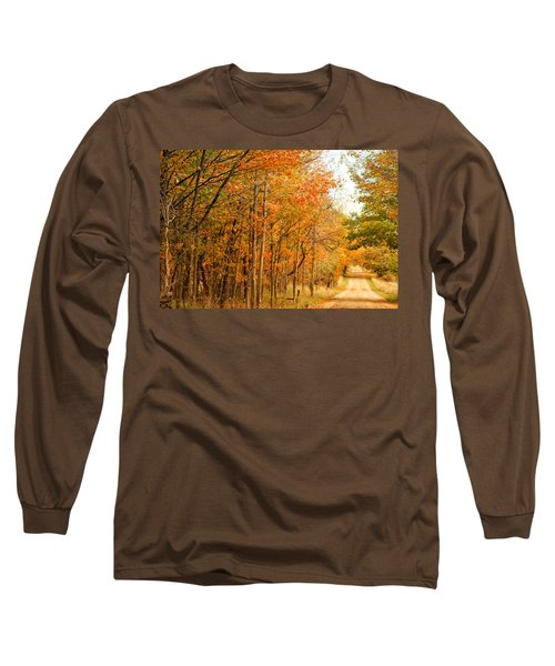 9012 - Fall On Murphy Lake II Long Sleeve T-Shirt