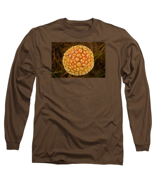 Fall Orb Long Sleeve T-Shirt by Carlee Ojeda