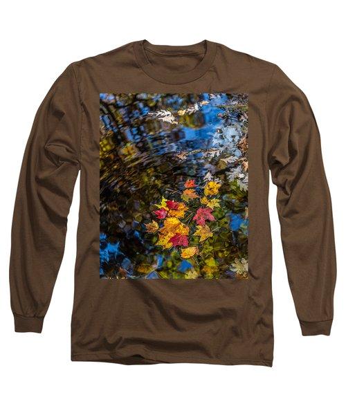 Fall Reflection - Pisgah National Forest Long Sleeve T-Shirt