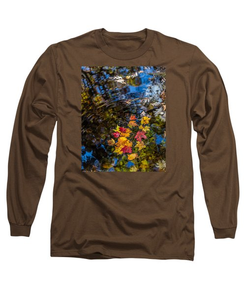 Fall Reflection - Pisgah National Forest Long Sleeve T-Shirt