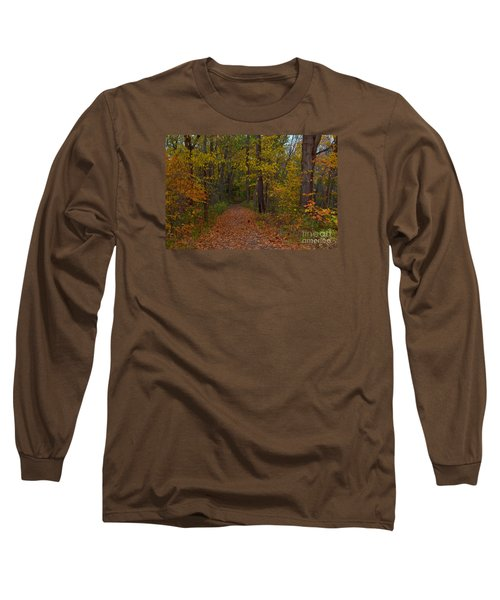 Falls Park Woods In Pendleton Long Sleeve T-Shirt