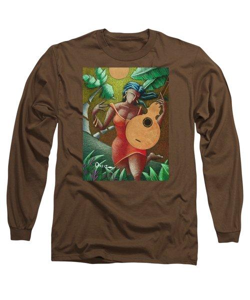 Fantasia Boricua Long Sleeve T-Shirt