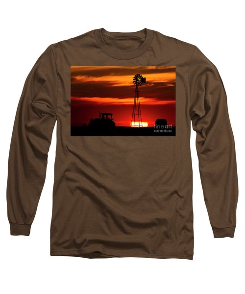 Farm Silhouettes Long Sleeve T-Shirt
