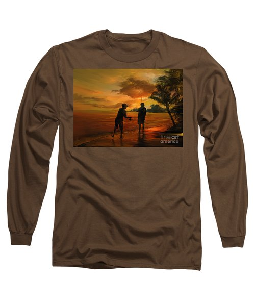 Father And Son Fishing Long Sleeve T-Shirt