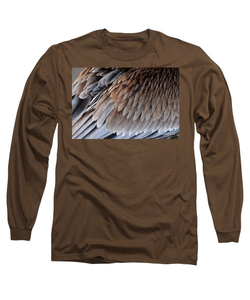 Feathers Cascade Long Sleeve T-Shirt