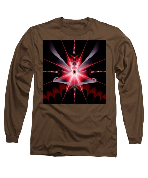 Feelings Love At First Sight Long Sleeve T-Shirt by Andrew Penman