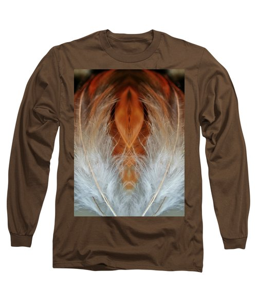 Female Feathers Long Sleeve T-Shirt