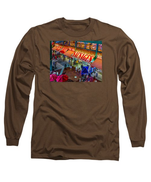 Fenway Food Court 3845 Long Sleeve T-Shirt