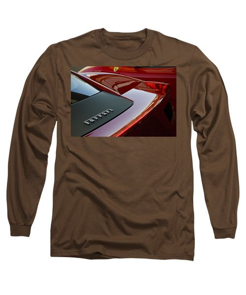Ferrari Italia Long Sleeve T-Shirt by Dennis Hedberg
