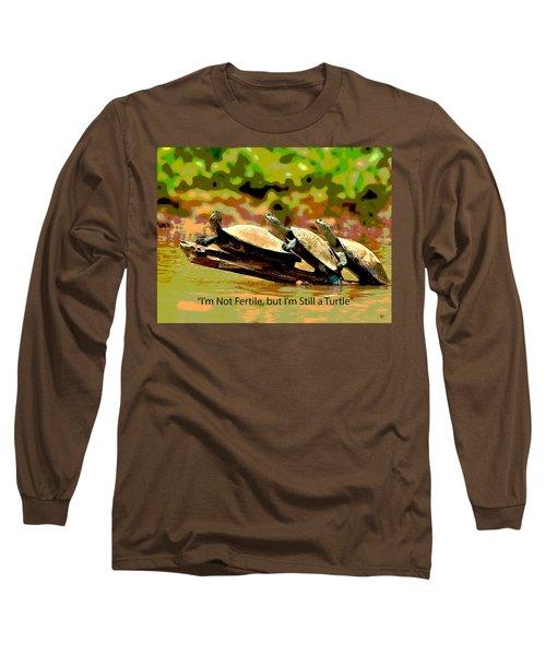 Fertile Turtle Long Sleeve T-Shirt