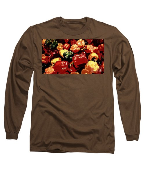 Festival Of Peppers Long Sleeve T-Shirt