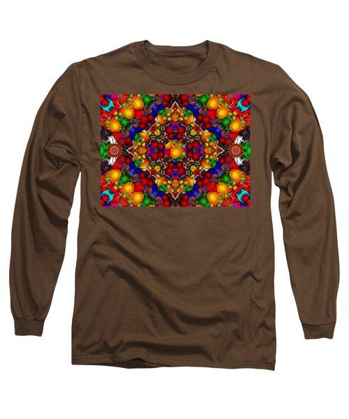 Long Sleeve T-Shirt featuring the digital art Festivities by Robert Orinski