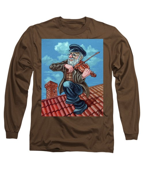 Fiddler On The Roof. Op2608 Long Sleeve T-Shirt