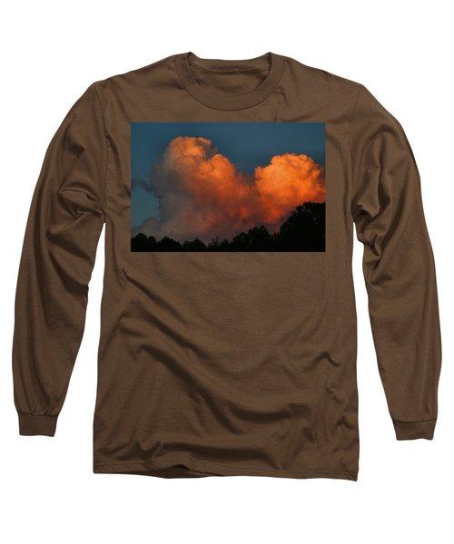 Fiery Cumulus Long Sleeve T-Shirt