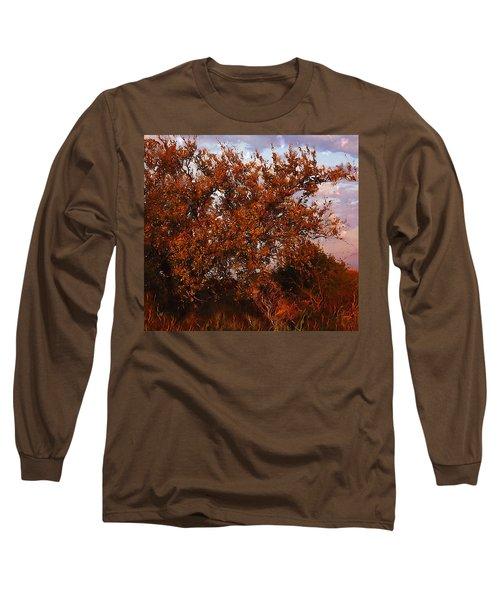 Fiery Elm Tree  Long Sleeve T-Shirt