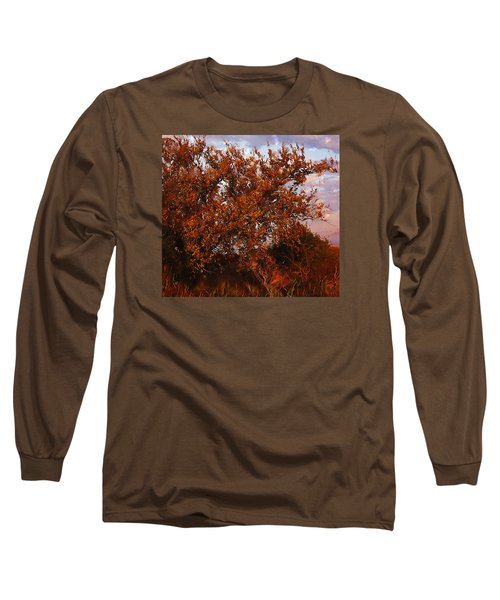 Fiery Elm Tree  Long Sleeve T-Shirt